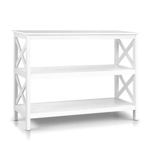 Console Hall Table White