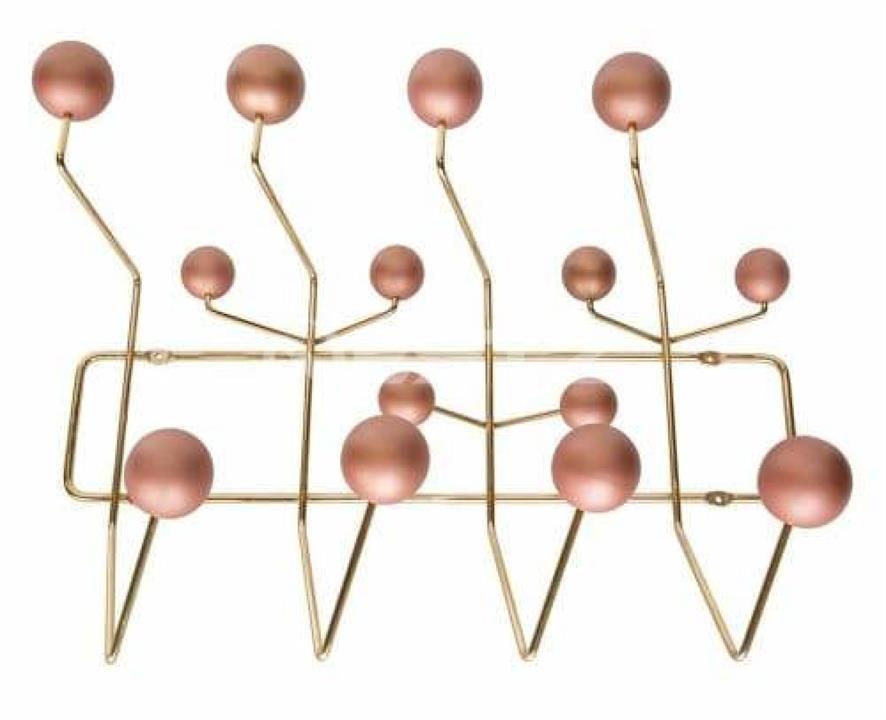 Eames Replica Hang It All Rack - Copper