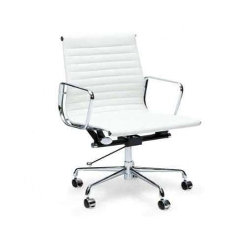 Eames Replica Management Office Chair - Low Back - White