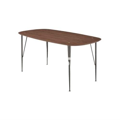 Image of 6ixty 6IXTY2 Dining Table - Small - Walnut Satin