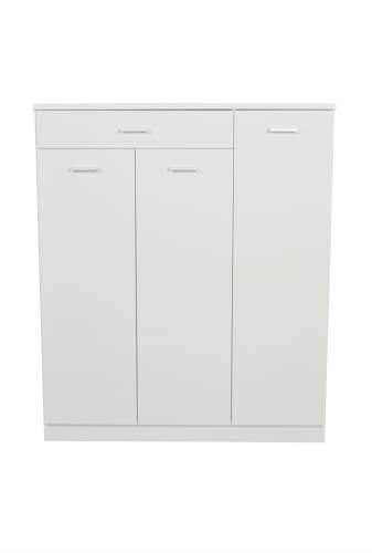 Adrian Shoe Storage Cabinet - High Gloss White