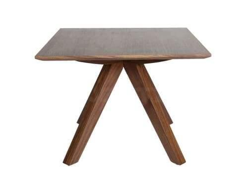 Amelia Collection Side Table - 60cm - Walnut