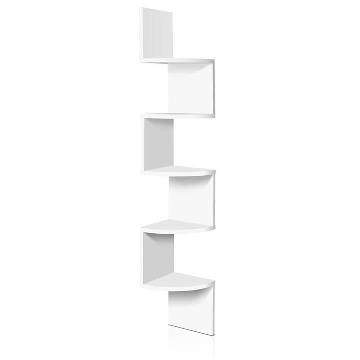 5-Tier Corner Wall Shelf