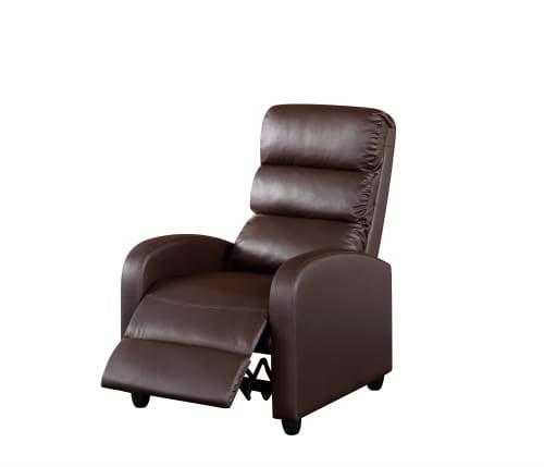 First Class Recliner Accent Armchair - Brown