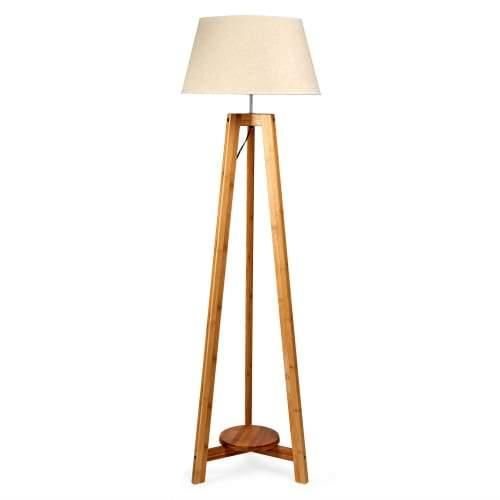 Hanifa Classic Tripod Floor Lamp - Natural