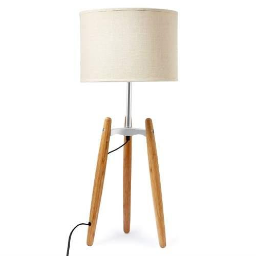 Madison Classic Tripod Table Lamp - Natural