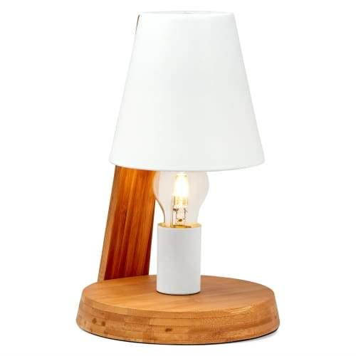 Leela Classic Table Lamp - Natural / White
