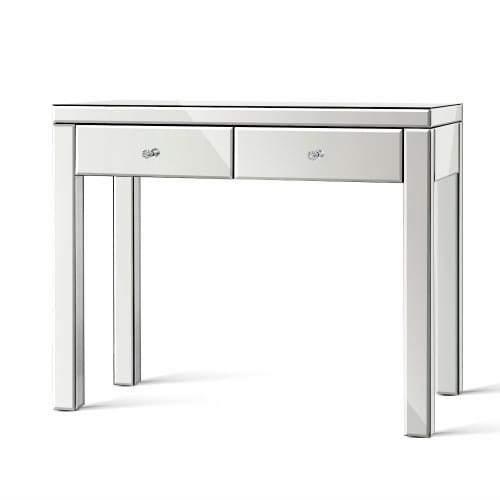 Mirrored Furniture Dressing Console Hallway Hall Table Sideboard Drawers