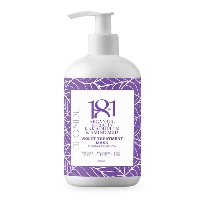 18 in 1 Blonde Violet Treatment Mask 500ml