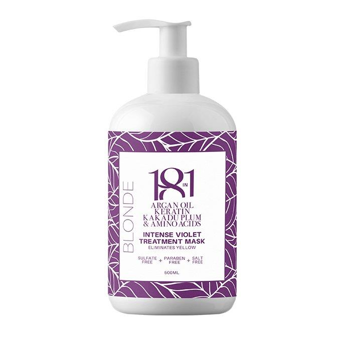18 In 1 Blonde Intense Violet Treatment Mask 500ml