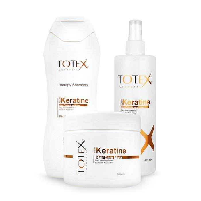 Totex Cosmetic Keratin Hair Care Pack