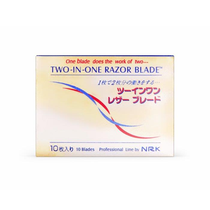Nikky Two-In-One Razor Blades
