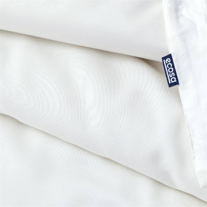 Ecosa Bamboo Bedding-Single-Ivory-Quilt cover