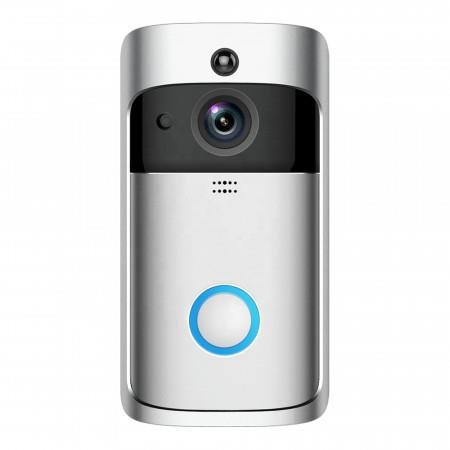 Image of HD Wireless Security Camera Smart Doorbell with Night Vision(only cloud storage)