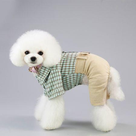 Pet casual dress  4 legs clothes SIZE S