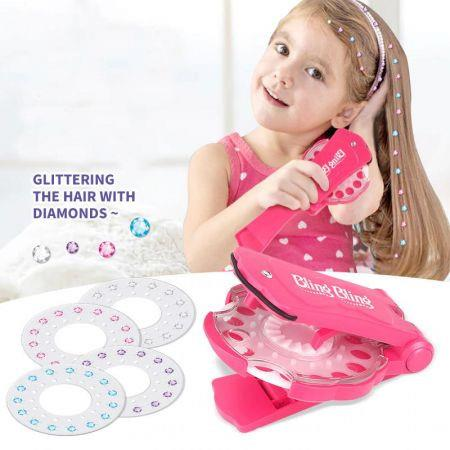 Bling Bling Tool Glam Styling Art Decoration DIY girls Crystal Stickers 150 Gems Deluxe Set