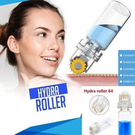 Image of Hydra Roller 64 Pin Micro Needle Titanium Tips Derma Needles 0.25mm