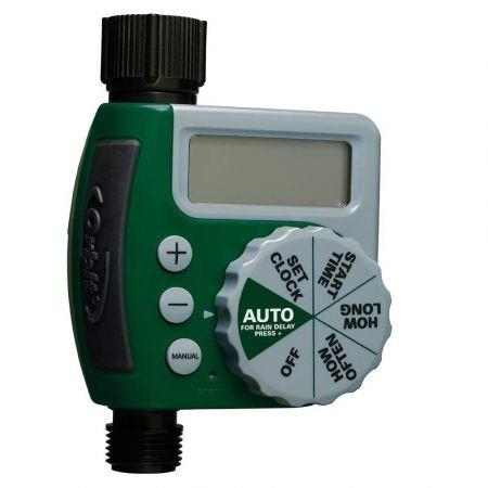 Image of Single-Outlet Hose Watering Timer, 1, Green