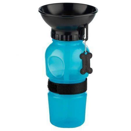 AutoDogMug Pet Water Bottle for Dogs, Dog Water Bottle Foldable, Dog Travel Water Bottle, Dog Water Dispenser, Lightweight & Convenient for Travel 500ml