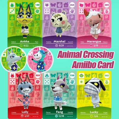 Image of 24PCS Animal Crossing New Horizons Game Amiibo Card For NS Switch NFC Cards Hot Villager Marshal Series 1 2 3 4