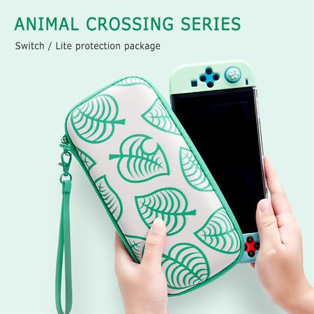 For Switch Lite Carrying Case Bag For Animal Crossing New Storage Bag