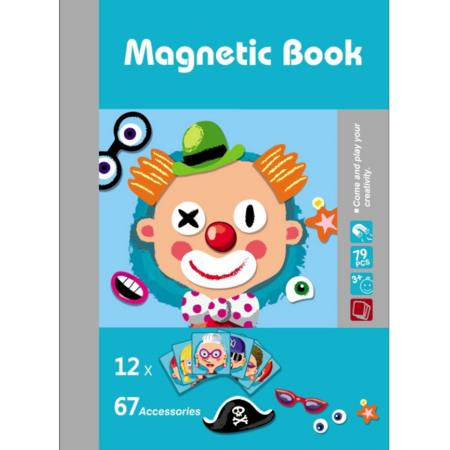 Image of Magnetic Puzzles Book Series Educational Toys Gift for Kids Age3+