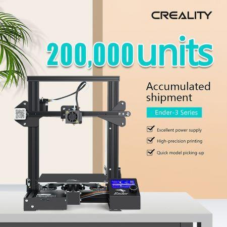 Image of Creality Ender 3 Pro 3D Printer Magnetic Hot Bed 220x220x250mm Resume Print 185mm/s