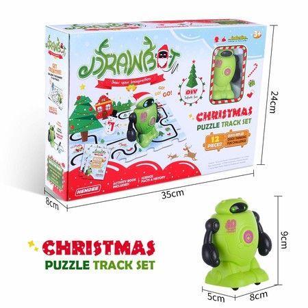 Image of Inductive Robot Follow Black Line Educational Toys Christmas Set