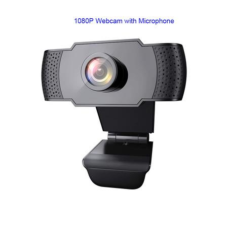Image of 1080P Webcam with Microphone, Wansview USB 2.0 Desktop Laptop Computer Web Camera with Auto Light Correction, Plug and Play, for Windows Mac OS, for Video Streaming, Conference, Gaming, Online Classes