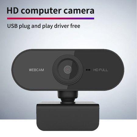 Image of HD Webcam Desktop or Laptop,USB Web Camera Built-in Mic