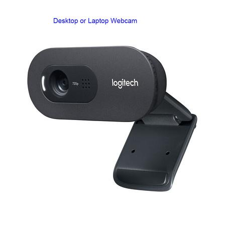 Image of Logitech C270i PTV 960-001084 Desktop or Laptop Webcam, HD 720p Widescreen for Video Calling and Recording