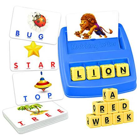 Image of TOPTOY Matching Letter Game for Kids - Best Gifts Educational Toys