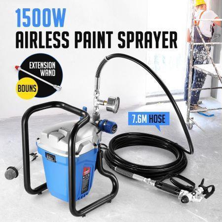 Image of 1500W Airless Paint Sprayer Gun Painting Machine 2.5L/Min