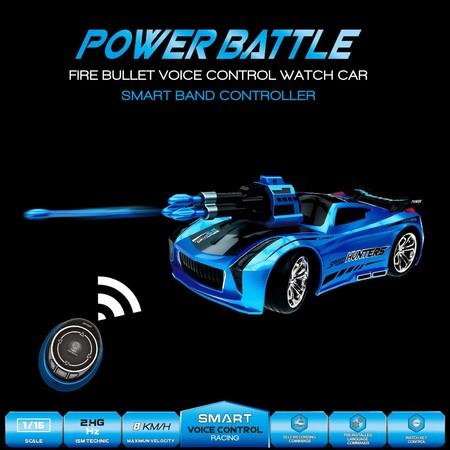 Image of Smart Watch Voice Command Remote Control Car