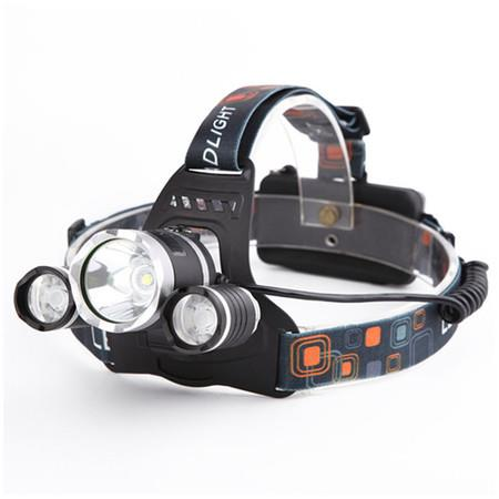 Image of LED Headlamp Flashlight,Rechargeable Headlamp with Red Safety Light,Xtreme Bright,Zoomable 3-Mode Head Lamp for Adults,Hardhat,Li-ion Battery Included