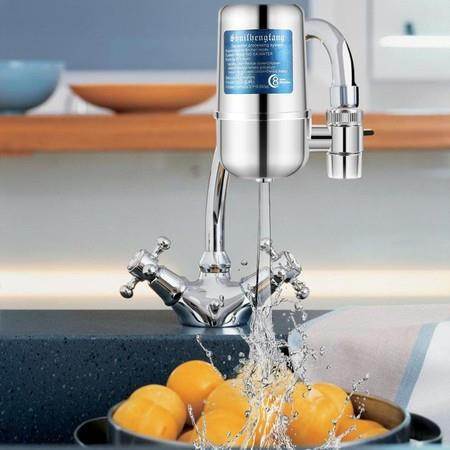 Image of Faucet Filter Tap Water Purifier 8 Layer Purification Remove Lead Flouride Chlorine
