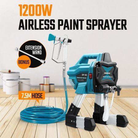 Image of 1200W Airless Paint Sprayer Gun Sprayer Spray Paint Machine
