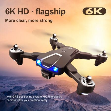 Image of 5G Wifi 6K Camera RC Drone With Professional Optical Flow Localization Dual Batteries