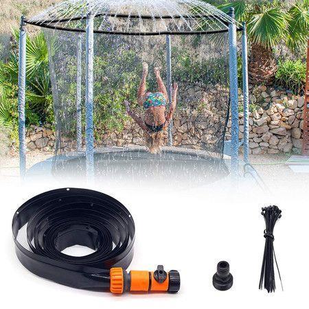 Image of Trampoline Sprinkler, Outdoor Water Play Sprinklers for Kids Fun (32.8ft/10M)