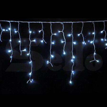 Image of 300 LED Curtain Fairy String Lights Wedding Outdoor Xmas Party Lights Cool White