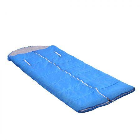 Image of Mountview Sleeping Bag Camping Hiking Compression Sack Single Outdoor Thermal