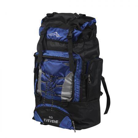 Image of Military Backpack Tactical Hiking Camping Bag Rucksack Outdoor Trekking 80L