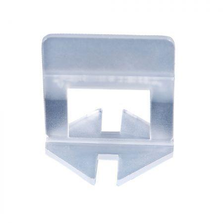 Image of 600x 1MM Tile Leveling System Clips Levelling Spacer Tiling Tool Floor Wall