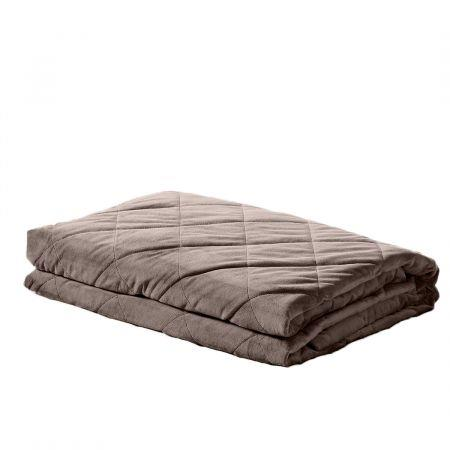 Image of DreamZ 5KG Anti Anxiety Weighted Blanket Gravity Blankets Mink Colour