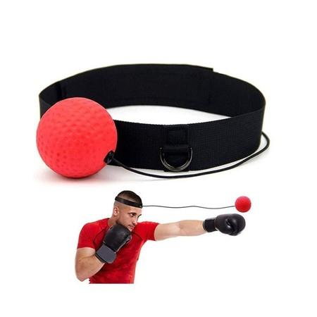 Image of Boxing Reflex Ball with Headband, Softer Than Tennis Ball, Perfect for Training