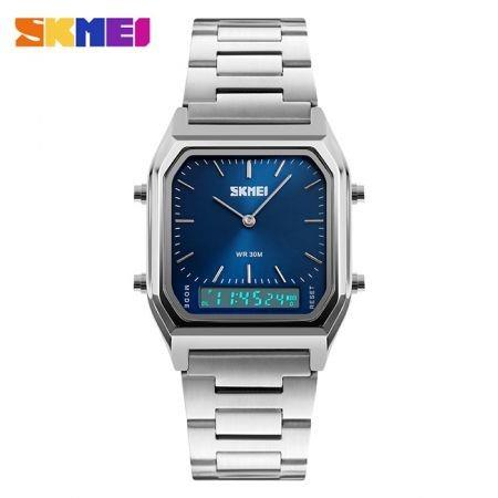 Image of SKMEI 1220 Dual Time Display Fashion Unisex Watch with EL Backlight