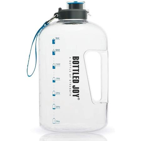 Image of Half Gallon Water Bottle, BPA Free 75oz Large Water Bottle for Camping Workouts and Outdoor