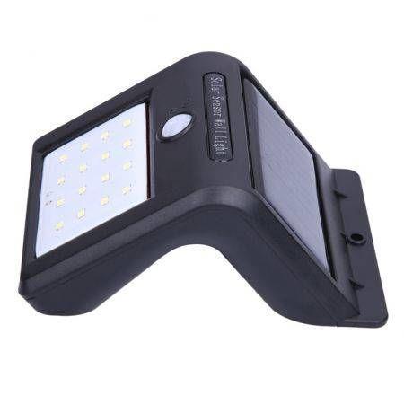 Image of 16-LED Solar Power Energy PIR Motion Sensor Waterproof Wall Light