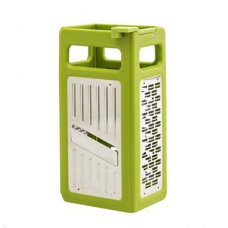 Image of 4 In 1 Kitchen Grater Folds Flat Grater For Easy Storage Kitchen Tools