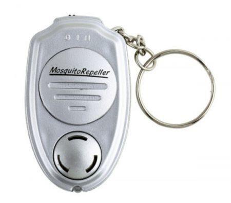 Image of Ultrasonic Anti Mosquito Insect Pest Repellent Repeller Keychain